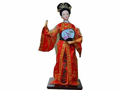 "Ancient Chinese Doll Decoration Doll ""A Dream of Red Chamber"" -Jia Yuanchun"