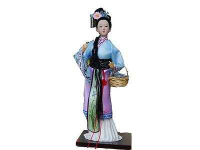 "Ancient Chinese Asian Doll Decoration ""A Dream of Red Chamber"" -Lin Daiyu"