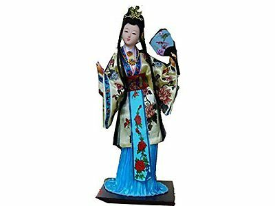 "Ancient Chinese Asian Doll Decor""A Dream of Red Chamber"" Character-Xue Baochai"