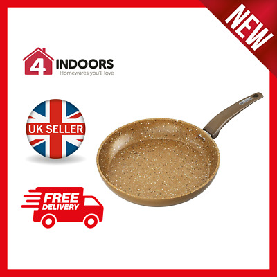 Tower 28cm Gold Forged Fry Pan with Cerastone Non-Stick Coating - New UK Stock!