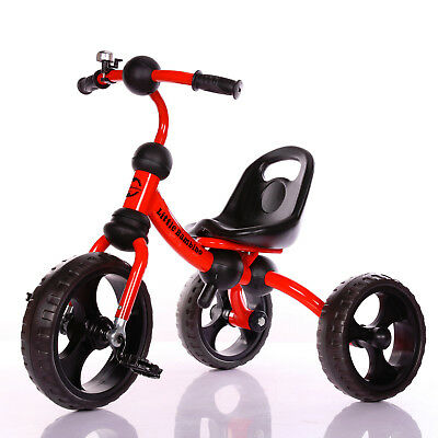 Little Bambino Kids Tricycle For Toddler 3-6 Year Old Bike Trike n Ride RED