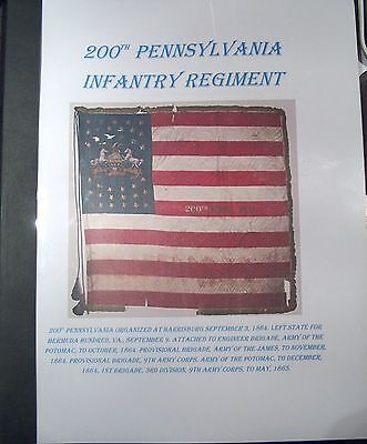 Civil War History of the 200th Pennsylvania Infantry Regiment