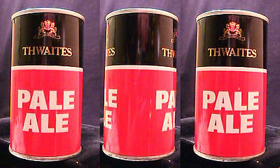 Thwaites Pale Ale - Late 1960's - 34Cl Pull Tab Can - Blackburn England - Super