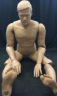 RESCUE RANDY Full Body Combat Fire EMS Military Medical Training Manikin 6'