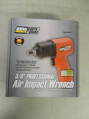 "Brand New Central Pneumatic 3/8"" Professional Air Impact Wrench #68425"