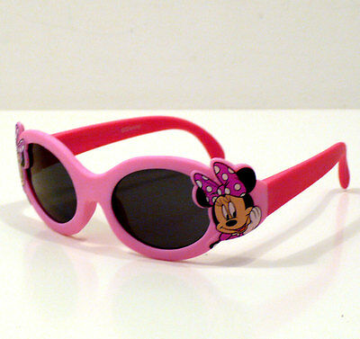 Occhiali Da Sole Bambino Disney Minnie Rosa Lenti Certif. Sunglasses Baby Infant
