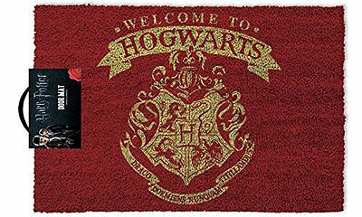 "Harry Potter 'Welcome to Hogwarts!"" Felpudo"