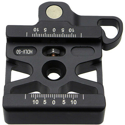 FotoPanda 50mm Heavy Duty Lever Quick Release Clamp Arca Swiss / RRS Compatible