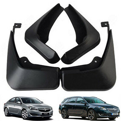 New Set Splash Guards Mud Flaps 1718088/087 For 2009-2017 Opel Vauxhall Insignia