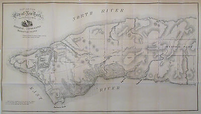 1859 Viele Map of the City of New York (Predating the Water Map) - ORIGINAL