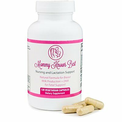 Lactation Supplement for Increased Breast Milk Supply with Fenugreek Extract