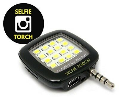 Selfie Light: Cell Phone Camer Flash LED Mini Spotlight Ring Fill-In Lighting