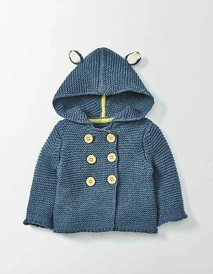 NEW! Brand New Baby Mini Boden Indigo Knitted Jacket 3-6m SOLD OUT!