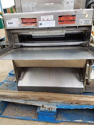 ACME MRS24 Dough Roller TableTop 2 Pass Stainless Steal