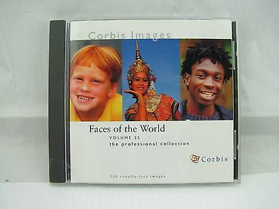 Corbis Images Professional Collection Volume 25 Faces of the World Stock Photos