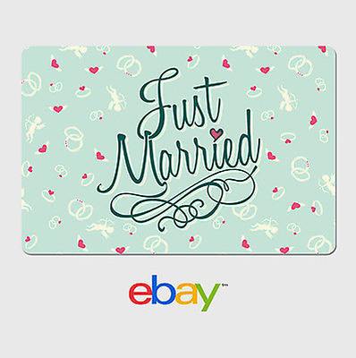 eBay Digital Gift Card - Wedding Hearts Email delivery