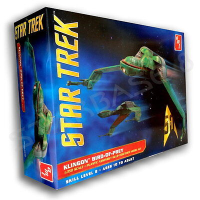 KLINGON BIRD OF PREY (1/350 AMT Bausatz) STAR TREK MODEL KIT