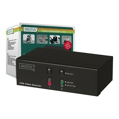 Digitus DS-44100 VGA Switch 2 Port Video Selector