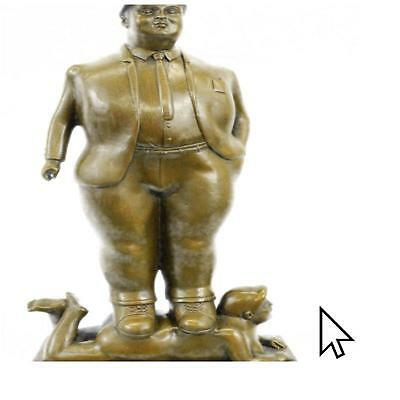 Fernando Botero ''Pedrito'' Art Bronze Sculpture Signed,Sealed,Hot Cast Figurine