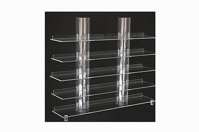 Hanger Board Top View with Transparent Columns Safe