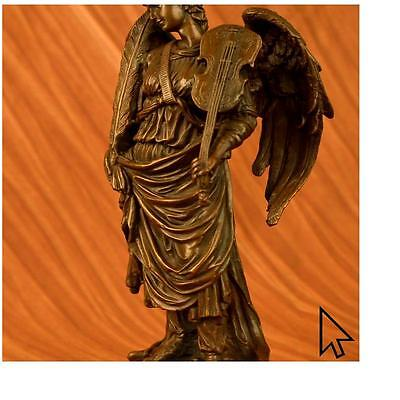 Bronze**DEAL** Sculpture**SALE**Statue Lady Angel Signed By French Moreau Figuri