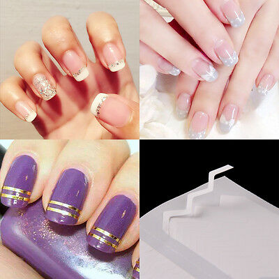 Decoration Nail Art Design Transfer Sticker Manicure Decal 3D Pack of 24