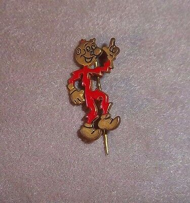 Vintage Reddy Kilowatt Pin, 1950s-1960s