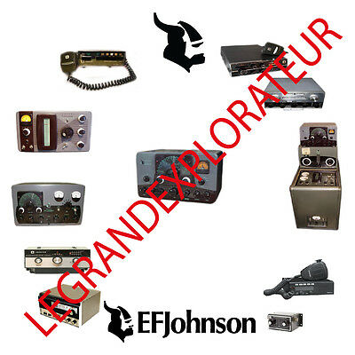Ultimate EF Johnson Viking Radio Operation Repair Service Manual s    360 on DVD