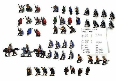 Spartacus 74-71BC DBA V2 II/45c 15mm Army PAINTED Essex Pict All Options Inc