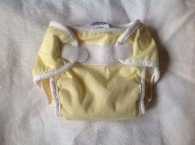 Thirsties Size Small AIO cloth diaper All in One plus pocket Yellow