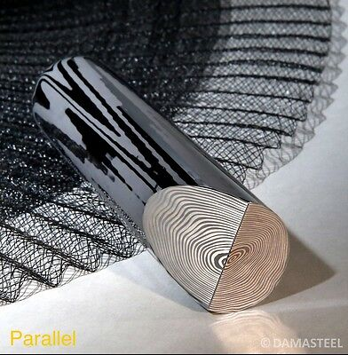 "DamaSteel Parallell Stainless Damascus 38mm (1.49"") Dia x 39"" long"