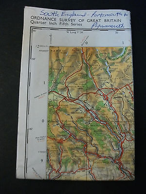 ORDNANCE SURVEY OF GREAT BRITAIN Southern England Sheet 16 1976
