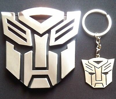 Transformers Optimus Prime Emblem Keychain Autobot Roll Out Logo