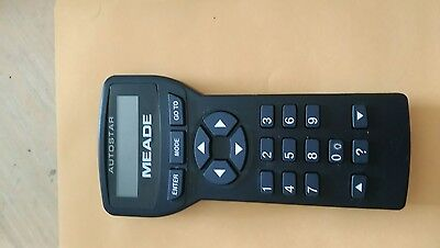 Meade 497 Autostar Hand Controller 35-4700-00 For DS ETX LXD Telescopes Remote