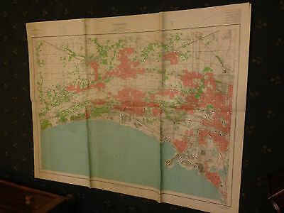 Large Gary, Indiana & Vicinity Geological Survey Map