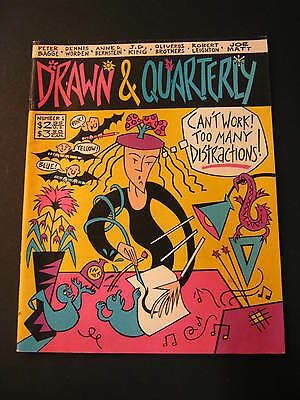 Drawn and Quarterly #1 Spring 1990 Joe Matt J.D. King Oliveros Bros great cond.