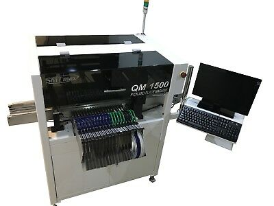 Dual Head Automatic Pick and Place Machine QM1500