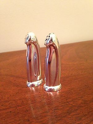 Reed & Barton Sterling Silver Salt & Pepper Shakers