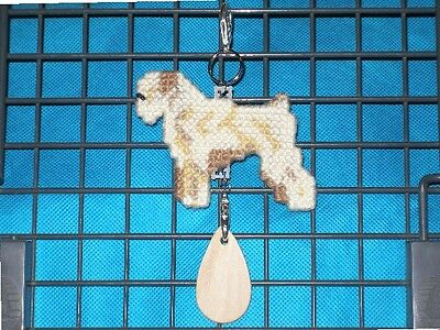 SOFT-COATED WHEATEN TERRIER #1 Dog crate tag or hang anywhere pet art, soft coat