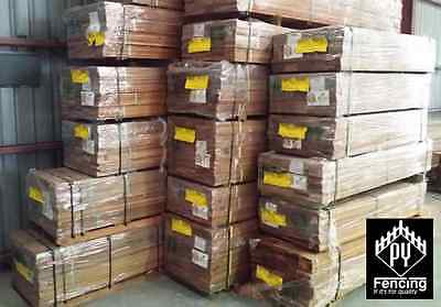 42mm x 19mm Merbau Screening and Fencing Timber, Kiln Dried, Standard and Better