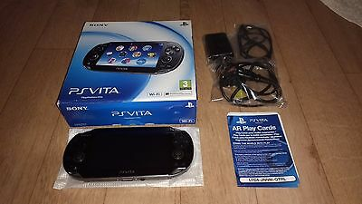 Sony Playstation Vita Wi-Fi Only PS Vita Boxed Excellent Condition