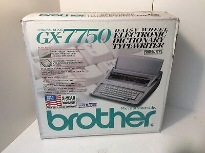 Brother Correctronics GX-7750 Typewriter Word Processor Home Office