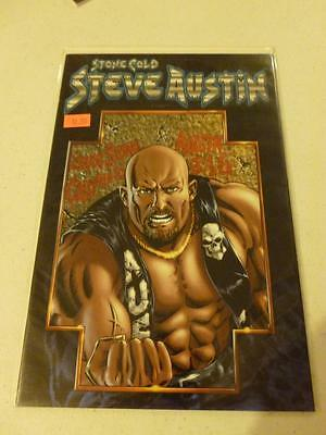 WWE Stone Cold Steve Austin 1 Variant Cover Dynamic Forces Chaos Comics COA