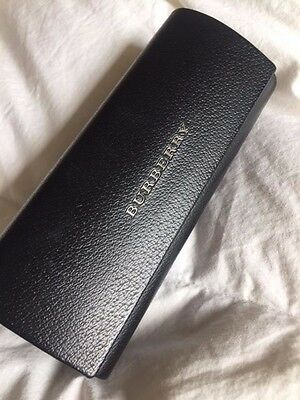 BURBERRY Designer Hard Sunglasses Case - Black