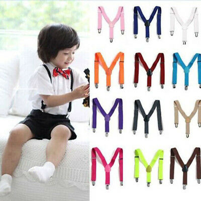 Suspenders Elastic Adjustable Braces for Boys Girls Children Toddler Hot Sale