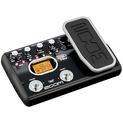 Zoom G2.1Nu Guitar Multi-Effects Pedal/USB Interface