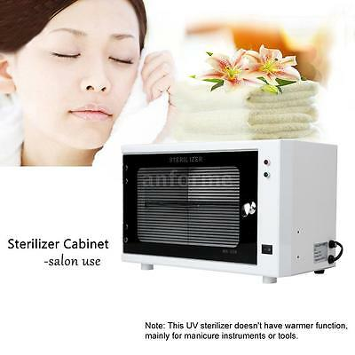 10W UV Sterilizer Cabinet Beauty Salon Spa Nail Towel Machine 110V US Plug E7C3