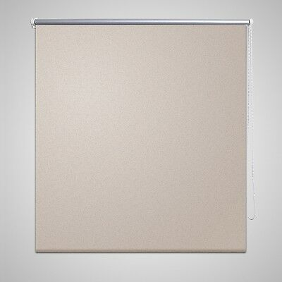 New Quality Roller Blind Blackout Thermal Easy Installation 40 x 100 cm Beige