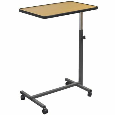 Mobile Laptop Computer Desk Table Adjustable Height Tiltable Tabletop Portable