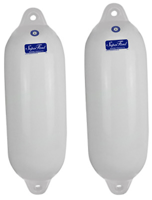 Boat Fenders 2 Pack 600mm x 200mm Marina Dock Buffers / Fender Inflatable